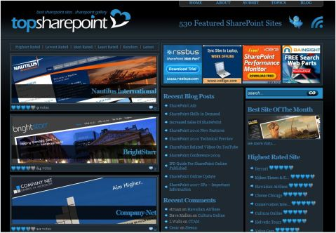 website in sharepoint